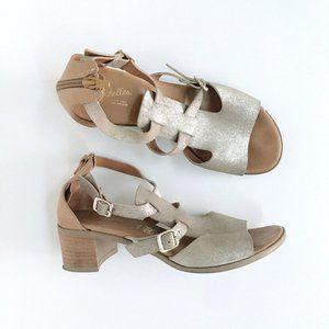 🌈 Seychelles gold gladiator leather sandal